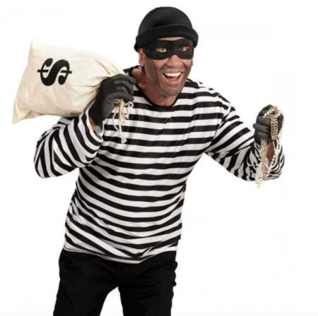 røver kostume til voksne 450x448 - Billige fastelavnskostumer til mænd under 200 kroner