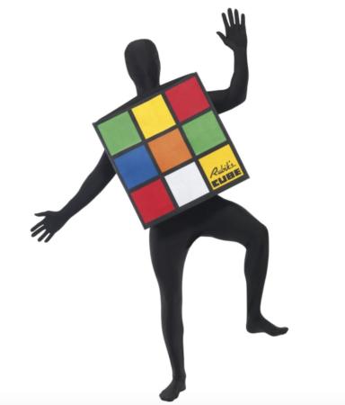 rubiks fastelavnskostume sjove voksenkostumer 384x450 - Sjove fastelavnskostumer til voksne