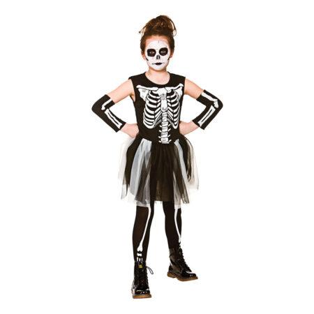 skelet kostume til piger billige halloweenkostumer til piger 450x450 - Billige fastelavnskostumer til piger under 200 kr