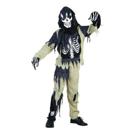 skelet zombie fastelavnskostume 450x450 - Billige fastelavnskostumer til drenge under 200 kr