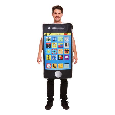 smartphone fastelavnskostume 450x450 - Sjove fastelavnskostumer til voksne