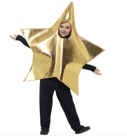 stjerne kostume til børn 423x450 - Sjove fastelavnskostumer til børn