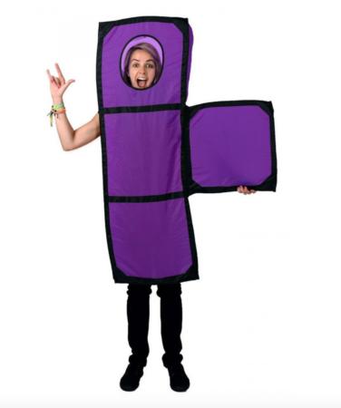 tetris kostume 376x450 - Sjove fastelavnskostumer til voksne