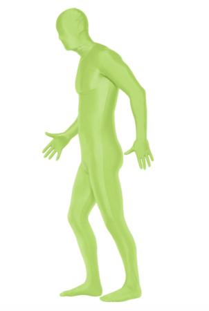 Grøn Skinsuit Kostume 302x450 - Grønne kostumer til voksne