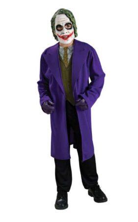 Joker fastelavnskostume til børn 281x450 - Populære fastelavnskostumer til drenge 2021