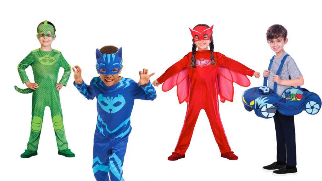 PJ mask fastelavnskostume 3 år pyjamasheltene fastelavnskostume 4 år