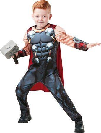 Thor fastelavnskostume til børn 342x450 - Populære fastelavnskostumer til drenge 2021