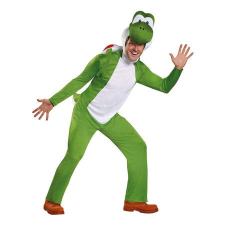 Yoshi kostume til voksne grønne kostumer til voksne 450x450 - Grønne kostumer til voksne