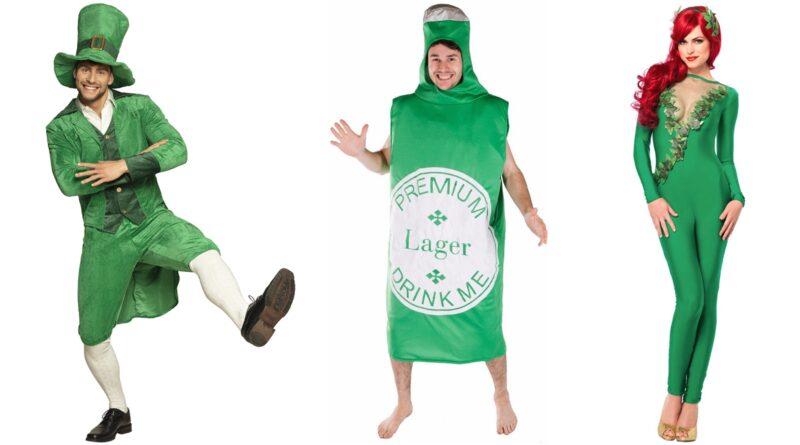grønne kostumer til voksne, grønne fastelavnskostumer til voksne, grønne voksenkostumer, grøn udklædning til voksne, grøn temafest, sjove grønne kostumer, grønne kostumer til mænd, grønne kostumer til kvinder