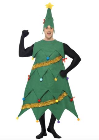 juletræ kostume til voksne grønne voksenkostumer 320x450 - Grønne kostumer til voksne