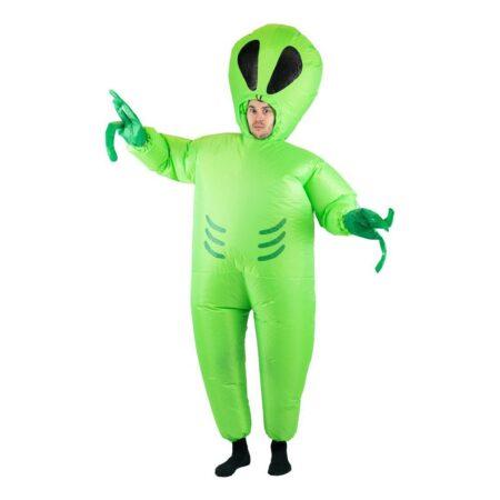 oppustelig alien kostume 450x450 - Grønne kostumer til voksne