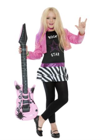 rockstjerne kostume til børn 328x450 - Populære fastelavnskostumer til piger 2021