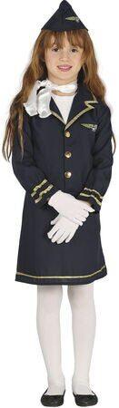 stewardesse fastelavnskostume til piger 131x450 - Populære fastelavnskostumer til piger 2021