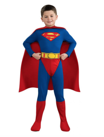 superman fastelavnskostume til børn 340x450 - Populære fastelavnskostumer til drenge 2021