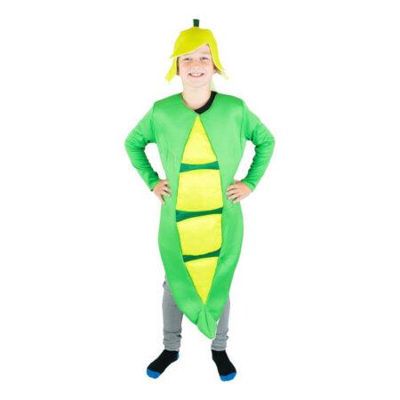 rtebælg kostume 450x450 - Grønne kostumer til børn