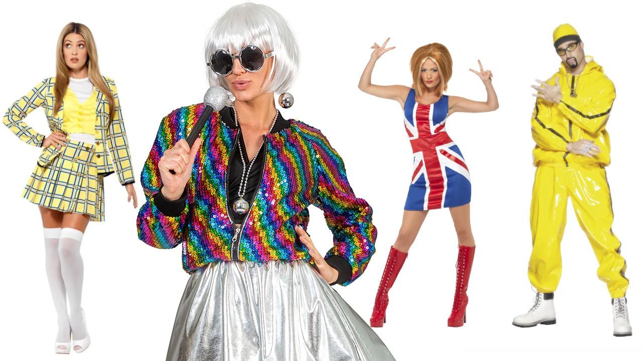 90er kostumer til voksne - 90er temafest