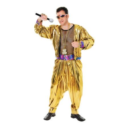 Guld hiphop kostume til voksne 450x450 - Guld kostumer til voksne