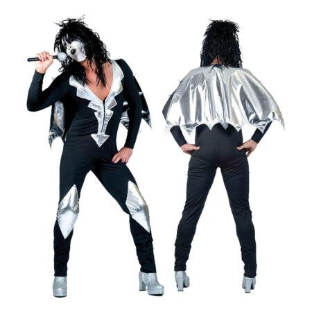 Kiss kostume til vooksne 450x450 - Sølv kostumer til voksne