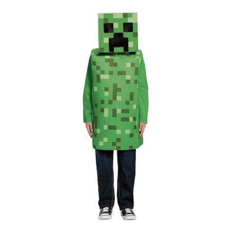 Minecraft creeper børnekostume grønne kostumer til børn  450x450 - Grønne kostumer til børn