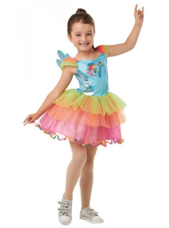 My Little Pony Rainbow Dash Børnekostume 334x450 - Regnbue kostumer til børn