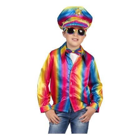 Regnbue skjorte til børn 450x450 - Regnbue kostumer til børn
