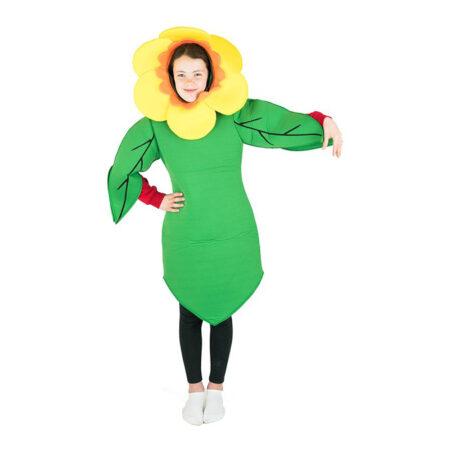 Solsikke børnekostume grønne kostumer til børn 450x450 - Grønne kostumer til børn