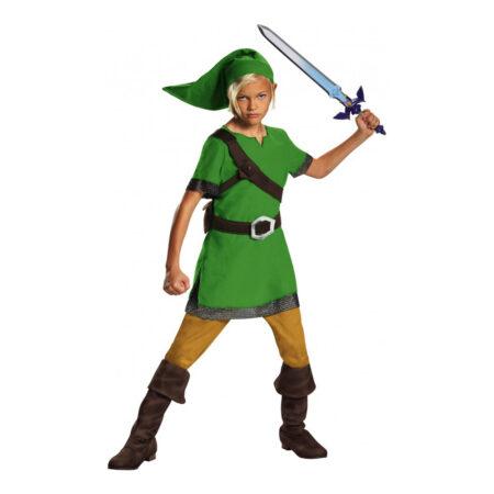 Zelda børnekostume grønne kostumer til børn 450x450 - Grønne kostumer til børn