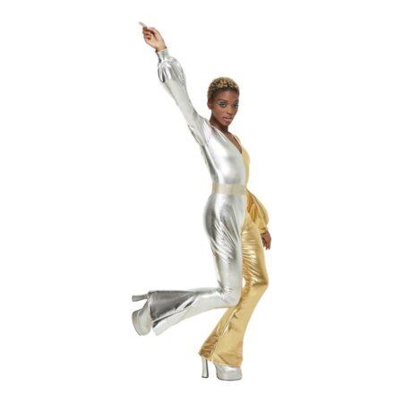 diskodronning kostume 450x450 - Sølv kostumer til voksne