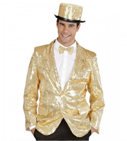 guld pallietjakke til mænd guld kostumer guld temafest  407x450 - Guld kostumer til voksne