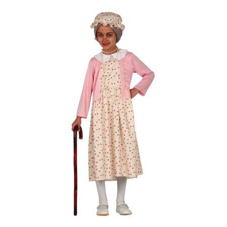Bedstemor børnekostume 450x450 - Bedstefar og bedstemor kostume til børn