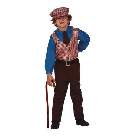 Gammel mand kostume til børn 450x450 - Bedstefar og bedstemor kostume til børn