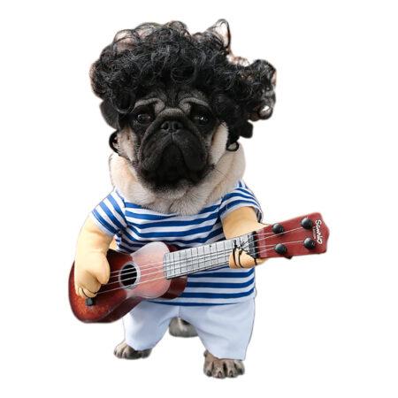 Guitarist kostume til kat 450x450 - Udklædning til katte