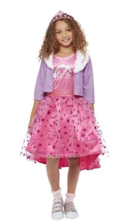 Barbie Princess AdventuresBørnekostume 260x450 - Barbie kostume til børn
