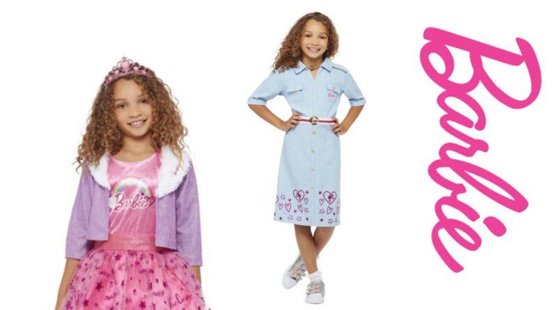 Barbie kostume til børn, barbie kostumer, barbie udklædning til børn, barbie fastelavnskostume til børn, barbie børnekostumer,