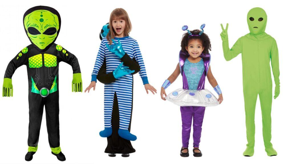 Alien kostumer til børn alien børnekostumer 1024x576 - Halloween kostumer til børn 2021 - drenge og piger