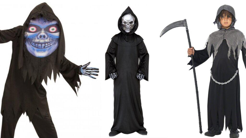 Døden kostumer til børn 1024x576 - Halloween kostumer til børn 2021 - drenge og piger