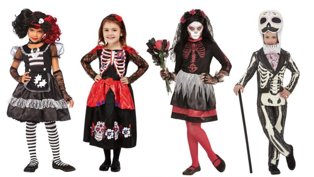 Dødens dag kostumer til børn halloween børnekostumer 2021 1024x576 - Halloween kostumer til børn 2021 - drenge og piger