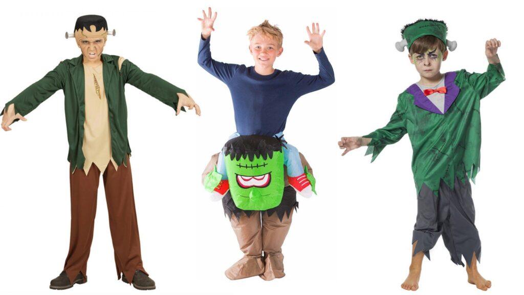 Frankenstein kostumer til børn 1024x576 - Halloween kostumer til børn 2021 - drenge og piger
