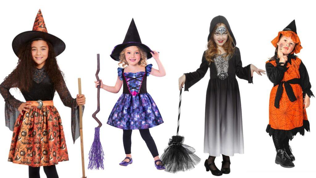 Hekse kostumer til børn halloween kostumer til børn 2021 1024x576 - Halloween kostumer til børn 2021 - drenge og piger
