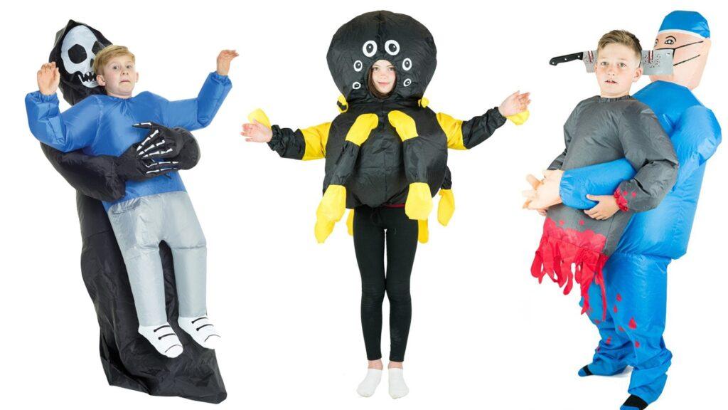 Oppustelige halloween kostumer til børn 1024x576 - Halloween kostumer til børn 2021 - drenge og piger