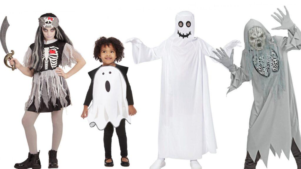 Spøgelse kostumer til børn halloween kostumer til drenge og piger 1024x576 - Halloween kostumer til børn 2021 - drenge og piger