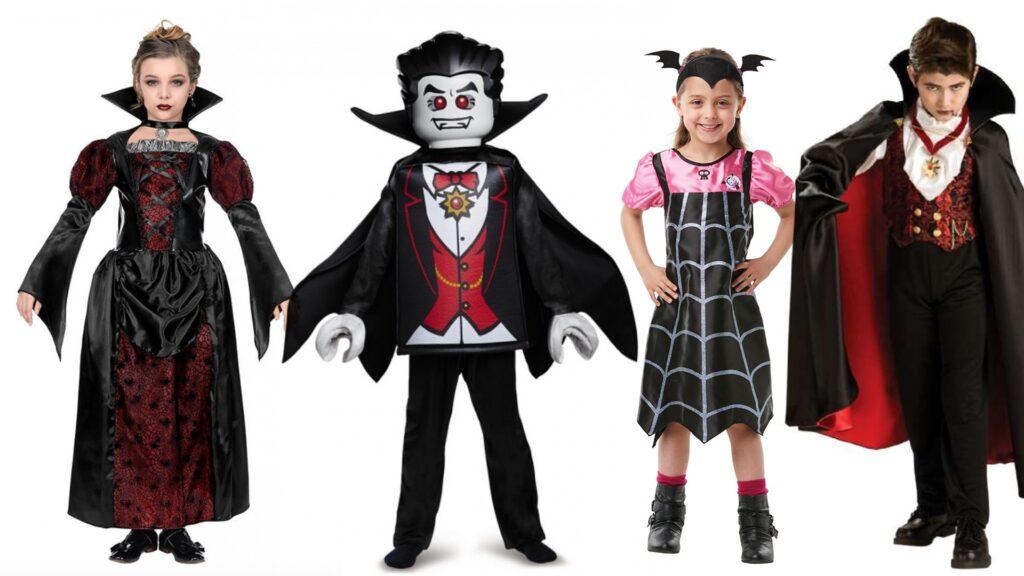 Vampyr kostume til børn halloween kostumer til børn 1024x576 - Halloween kostumer til børn 2021 - drenge og piger