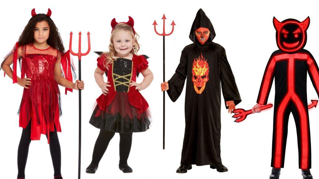 djævel kostumer til børn uhyggelige kostumer til børn 1024x576 - Halloween kostumer til børn 2021 - drenge og piger