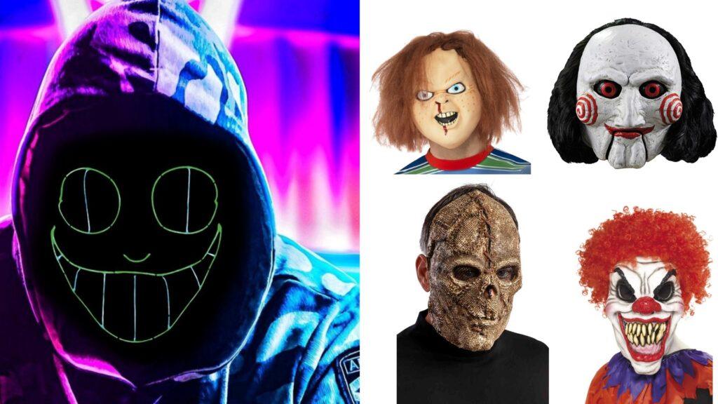 halloween masker til børn 1024x576 - Halloween kostumer til børn 2021 - drenge og piger